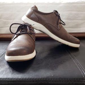 Johnston & Murphy sheepskin mens shoes